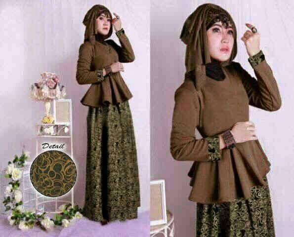 maxi cinta hijab bronze