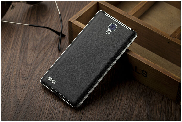 Jual Leather Back Cover Case Xiaomi Redmi Note Casing Original - storeigadget | Tokopedia