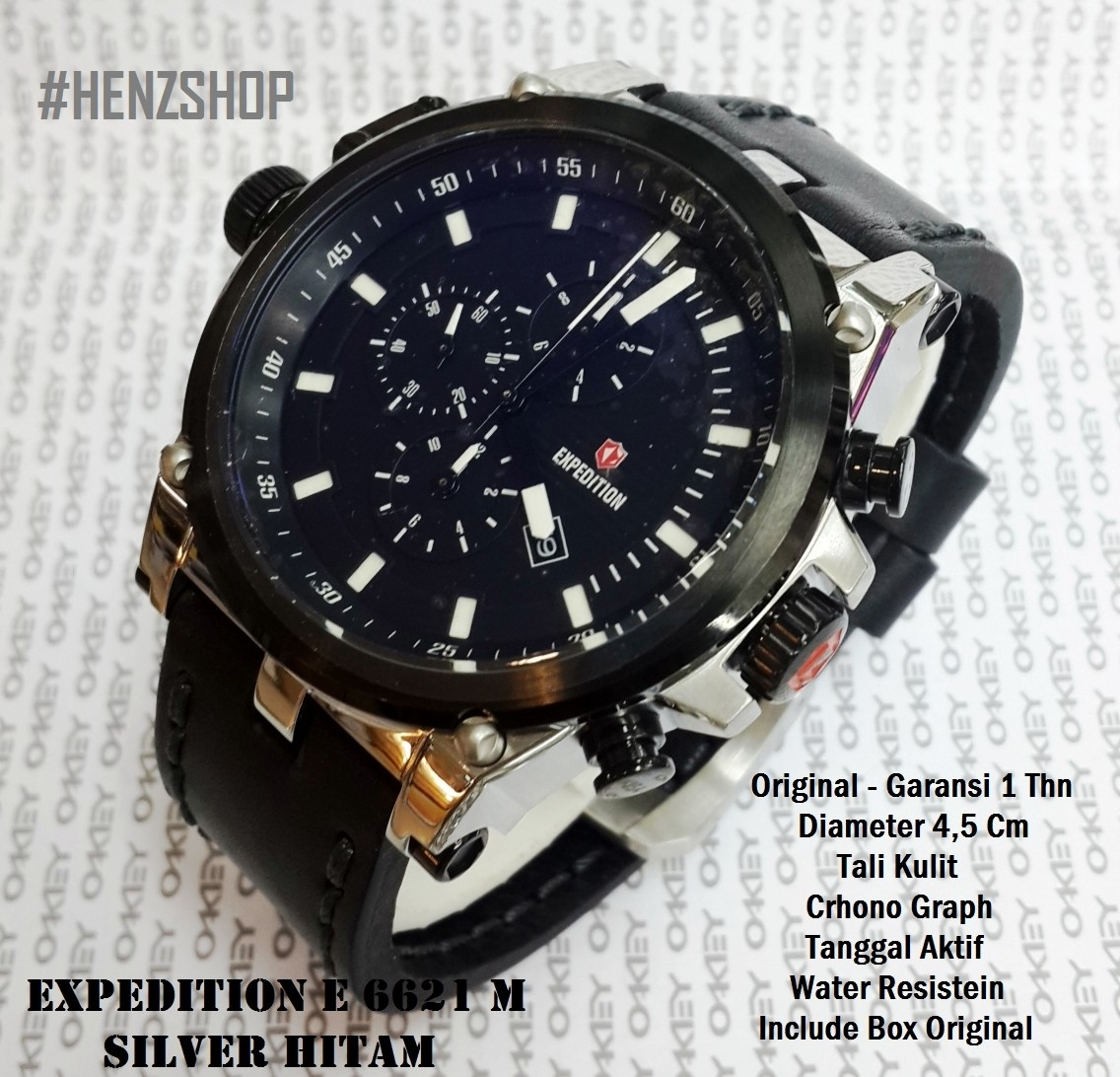 Jual Harga Jam Tangan Expedition Welcome To E6392 Rose Gold Black Men E 6621 M Original
