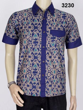 Jual Baju Batik Kombinasi Asli Pekalongan  Batik Modern Pria
