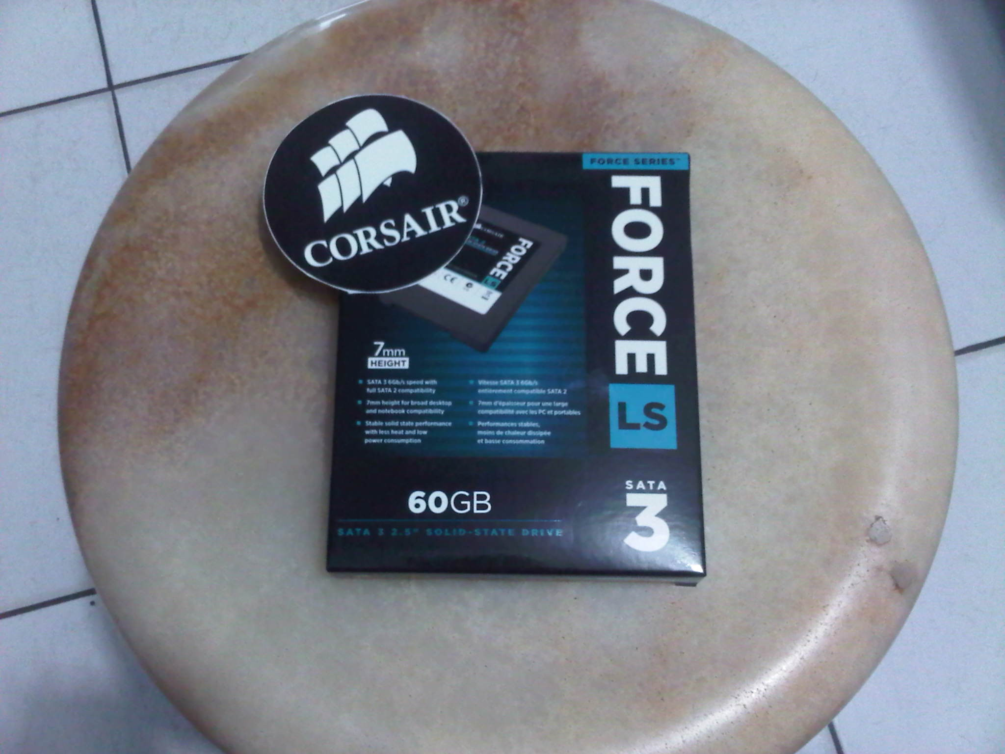 Jual Corsair Ssd 60gb Force Series Lsb Lightspeed Tokopedia Cssd F60gblsb Ls Sata Iii