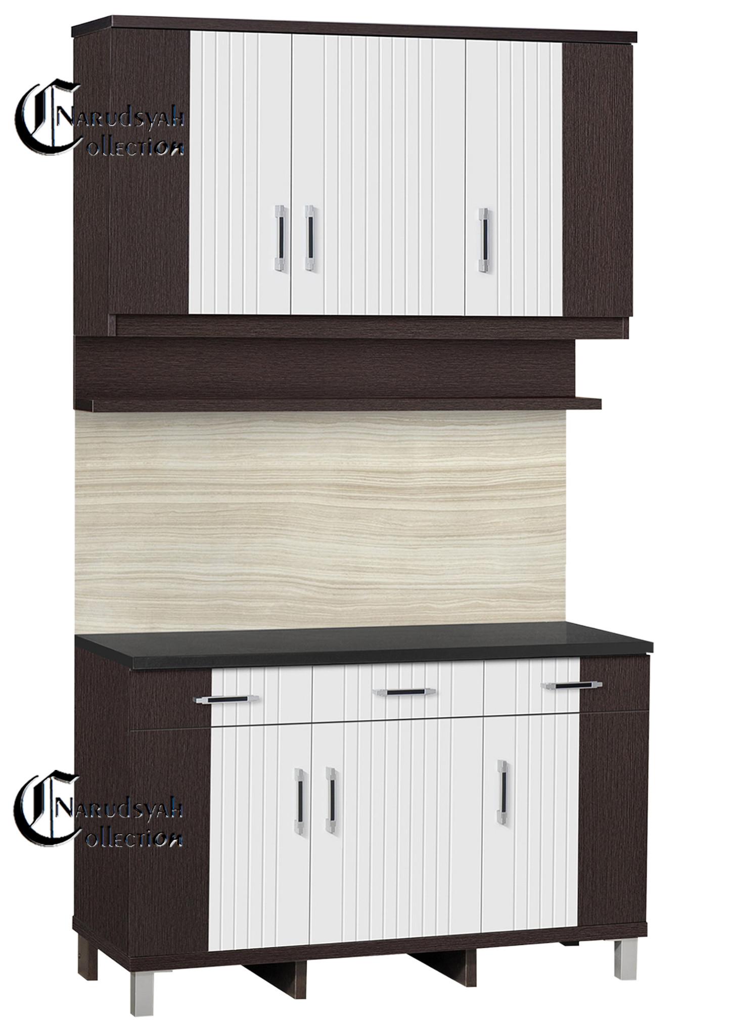 Jual kitchen set lemari dapur paket mini furniture for Toko kitchen set