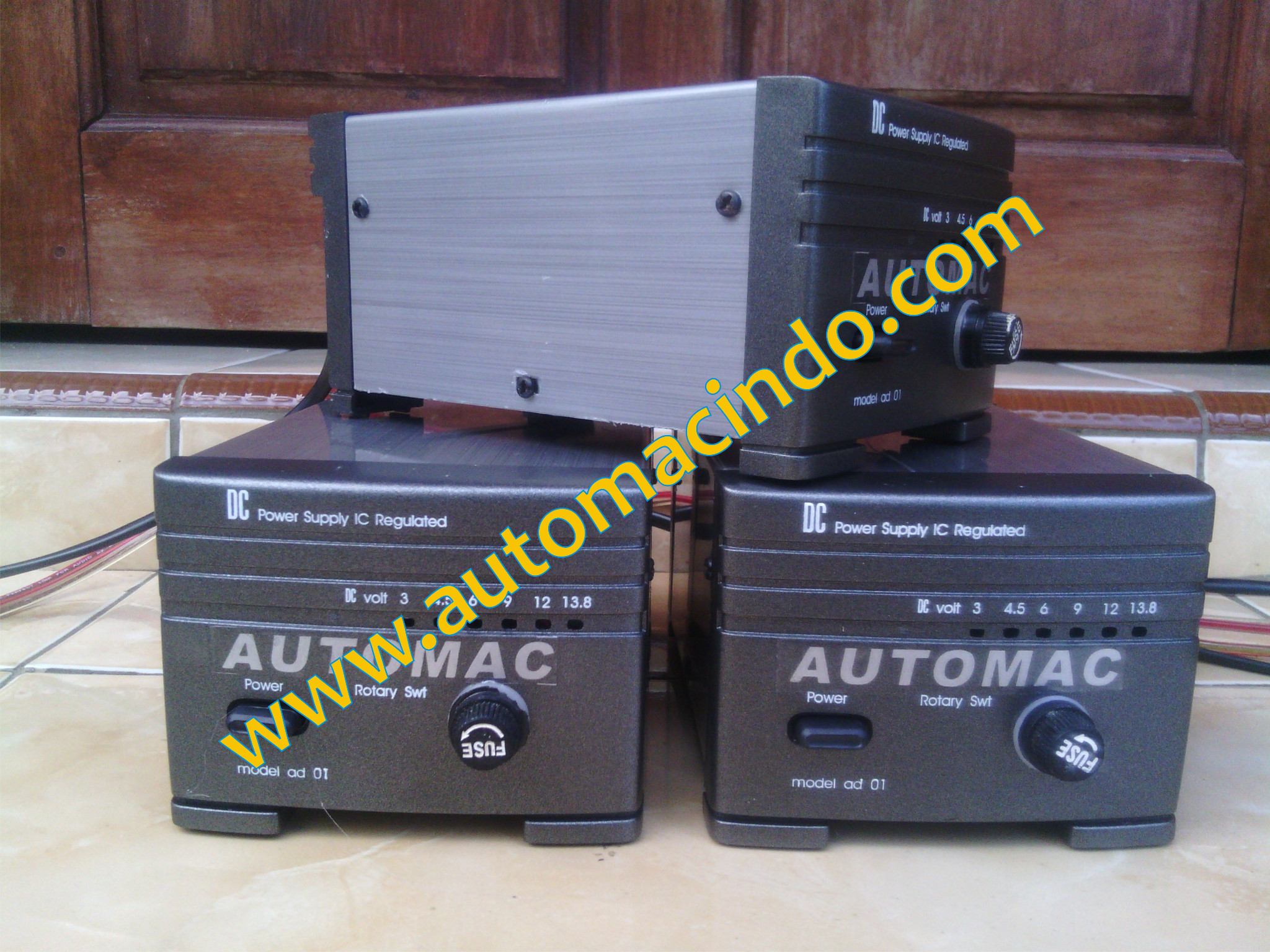 Automac Portbale Case Charger Aki Otomatis Dual System & Canggih
