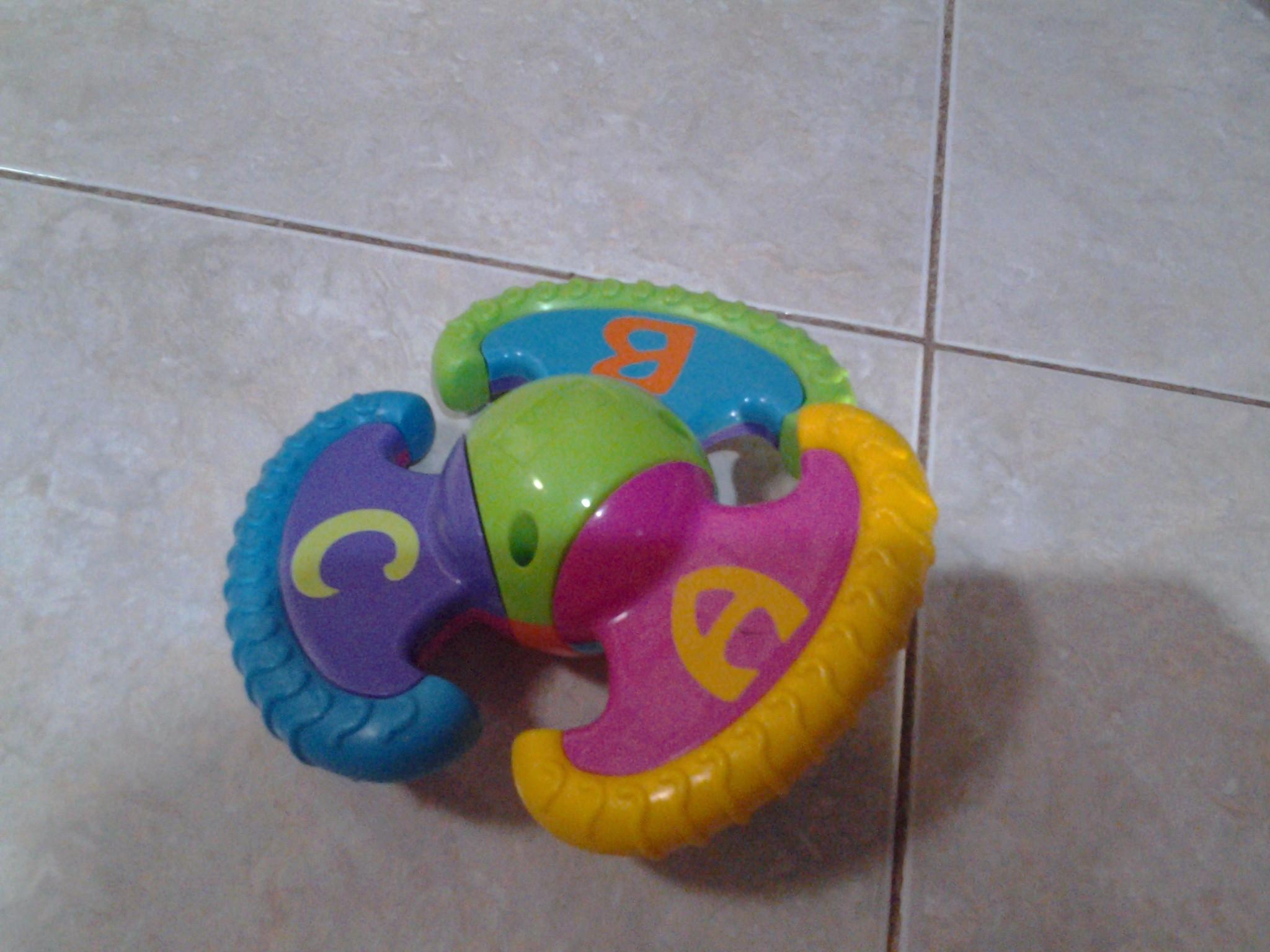 Jual Mainan Baby ABC bisa diputar dan ada kincring BBC Shop