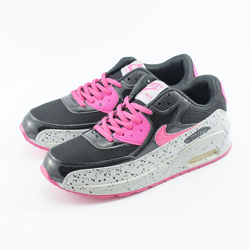 Jual Sepatu Nike Airmax 90 Sparkle Hitam Putih