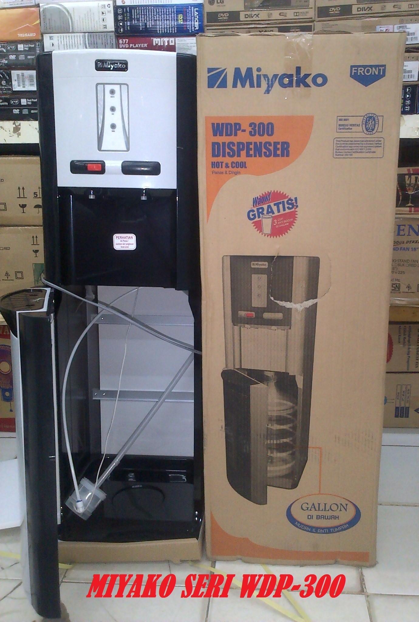 Jual Miyako Dispenser Galon Bawah WDP 300
