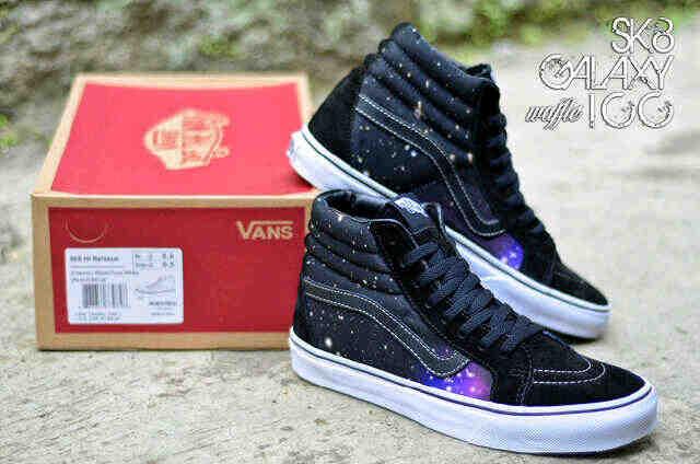 ... best sneakers e91d3 39312 Jual Sepatu vans sk8 high galaxy waffle ICC -  addict10 Toko ... 82009af976