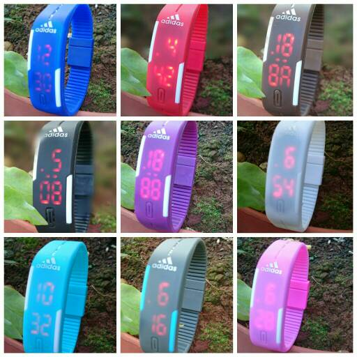 Jual Rubber Band Led Watch Rubber Band Nike