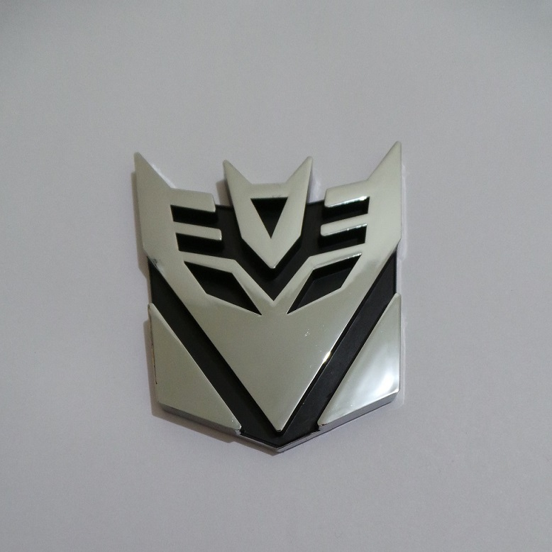 Harga Emblem Transformers Decepticon Medium