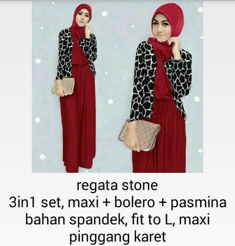 regata stone hijab