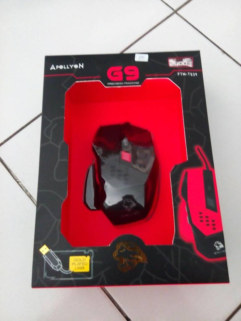 Jual Mouse Gamer Apollyon G9 Galaxy Notebook Tokopedia