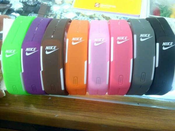 Jual Jam Tangan Gelang LED Digital Nike Adidas Puma TVG