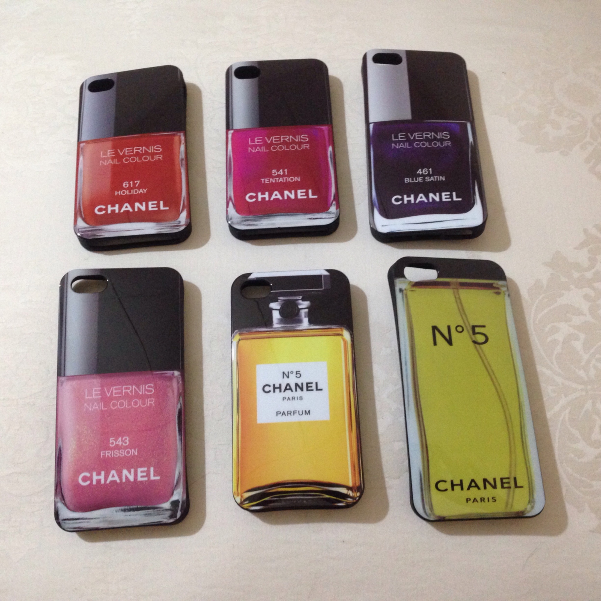 Awesome Iphone 5 Chanel Nail Polish Case Model - Nail Art Ideas ...
