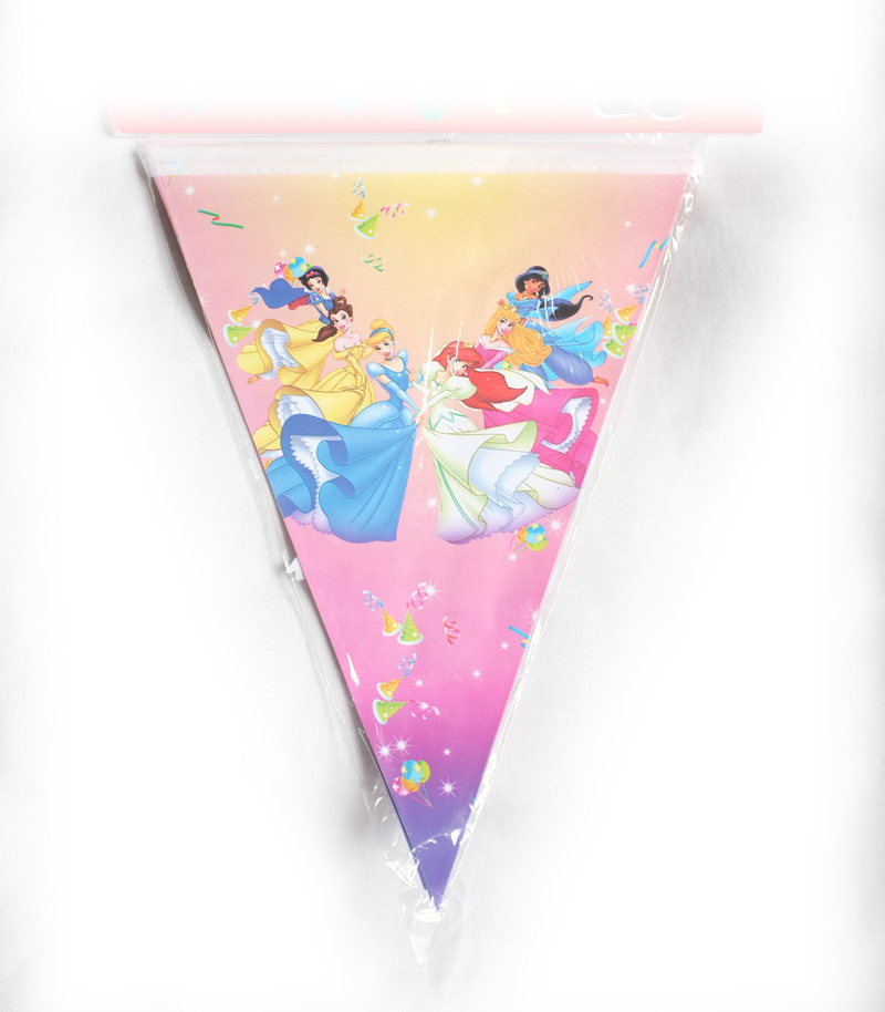 Jual Bendera Ulang Tahun Segitiga Princess Disney Birthday Party Pesta Flag Logos Tokopedia
