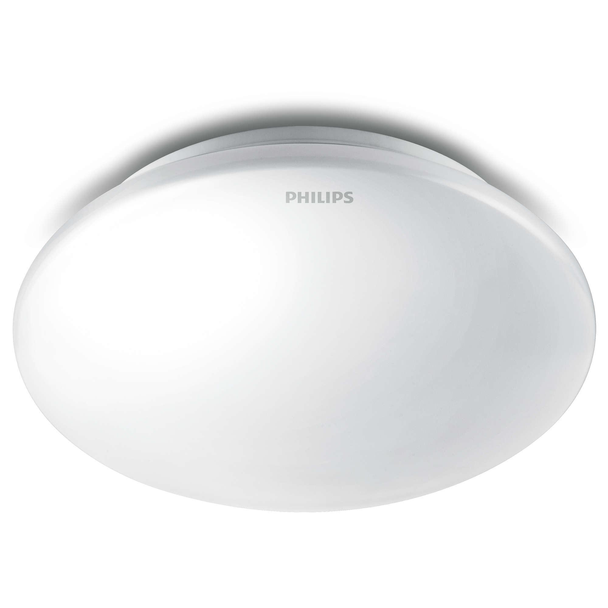 Philips Ceiling Led 33369 10watt 6500k Cahaya Putih Include Panel Nnp74667 18w Cool Daylight Square Jual 10w Lampu Bundar Bason Tokopedia