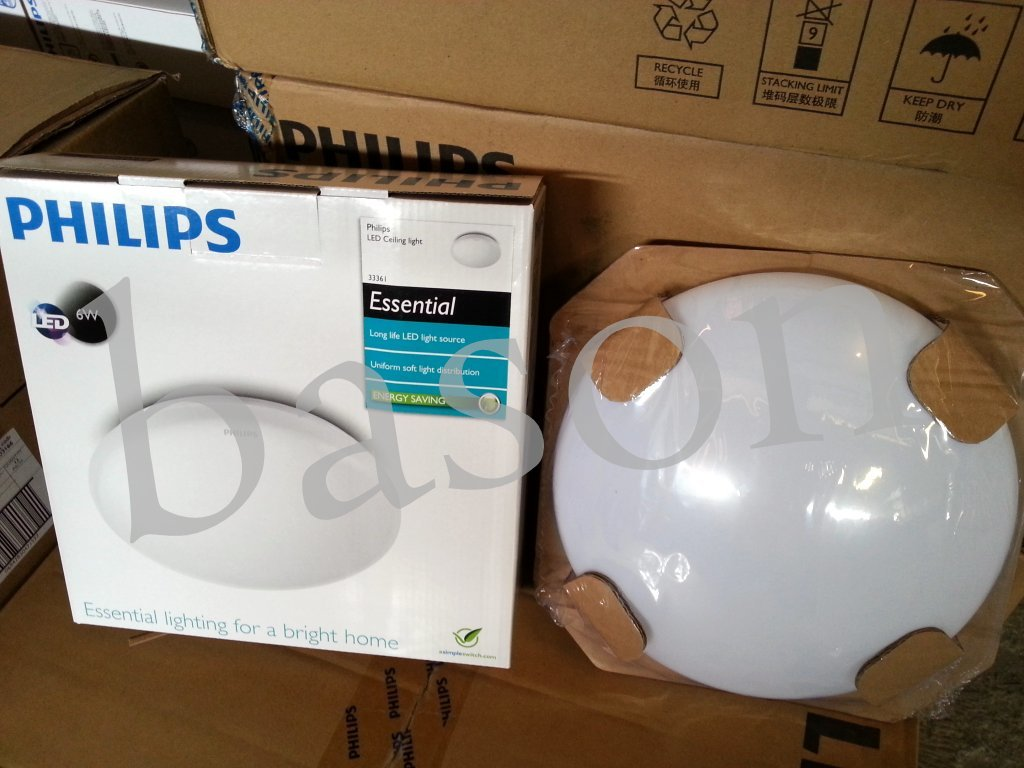Jual PHILIPS 33361 6500K LED CEILING 6W