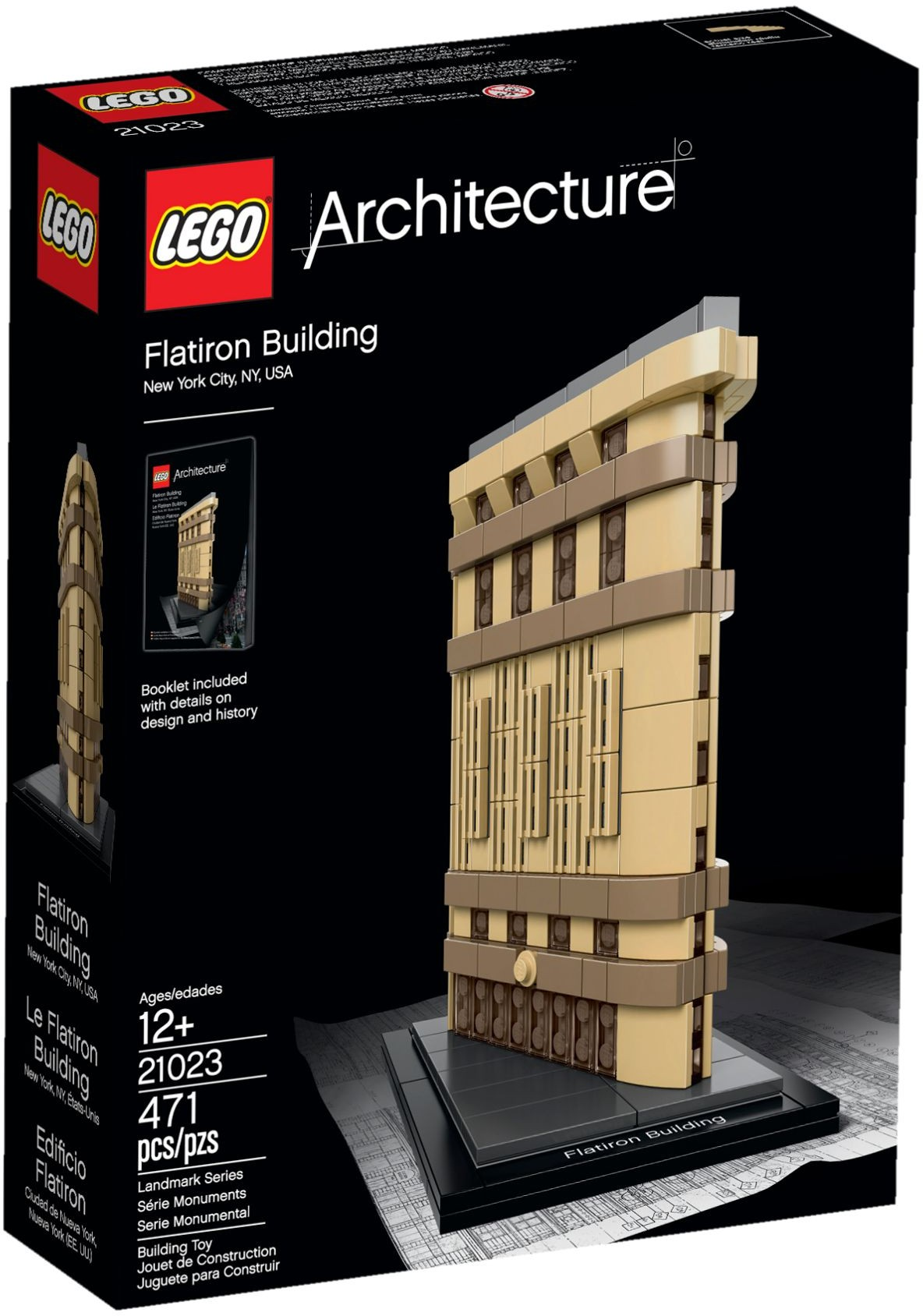LEGO # 21023 ARCHITECTURE FLATIRON BUILDING NEW YORK
