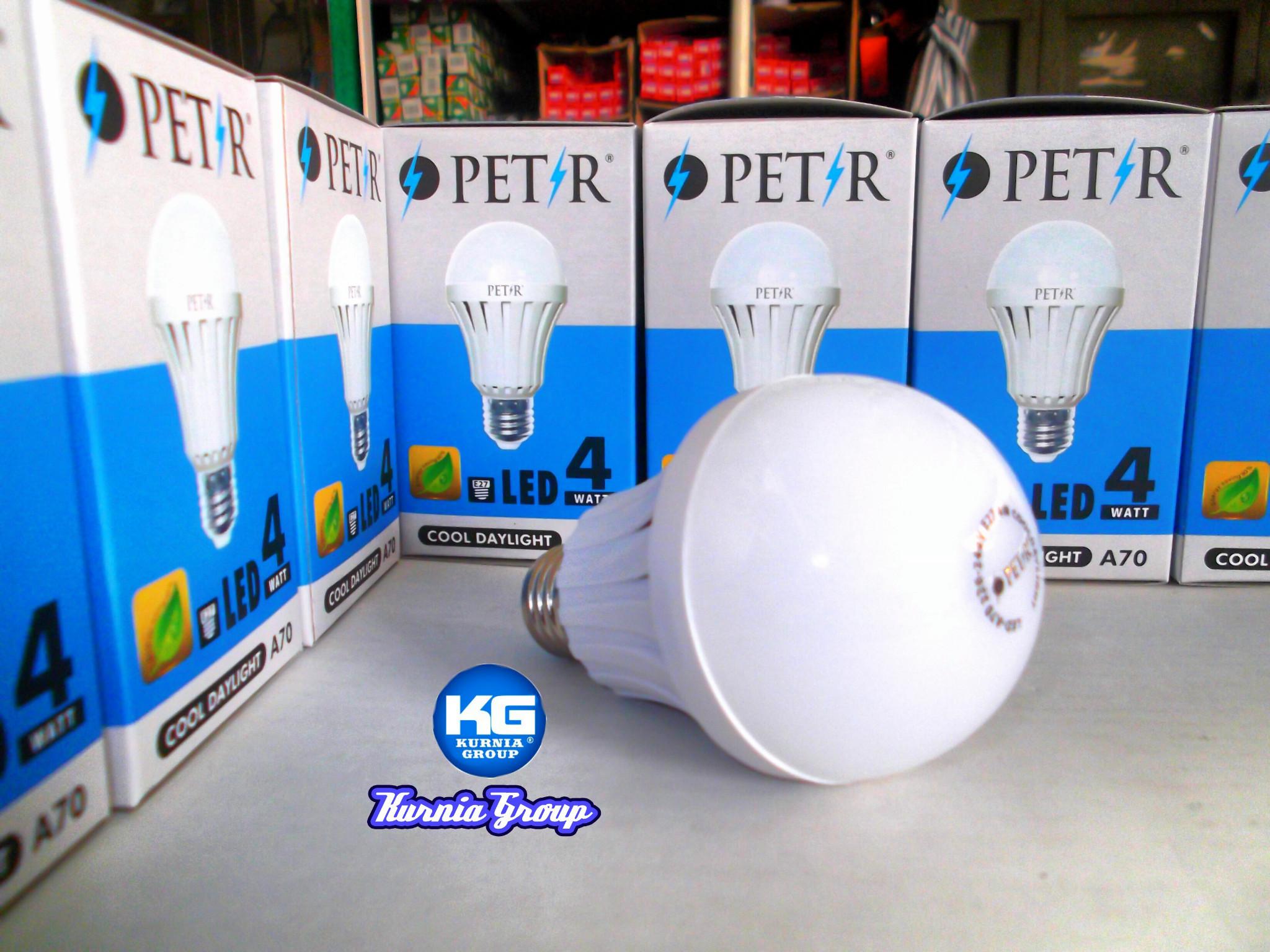 Jual LAMPU LED 4W FOCUS PETIR SUPER JOSS Body Jumbo Plat