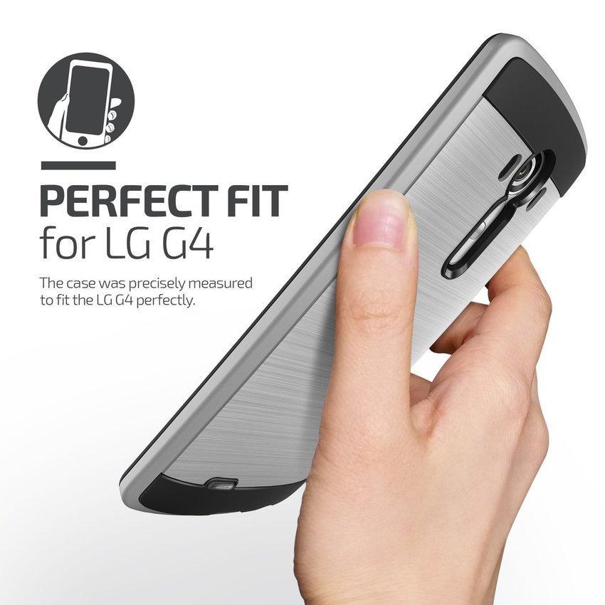 Verus LG G4 Case Verge Light Silver