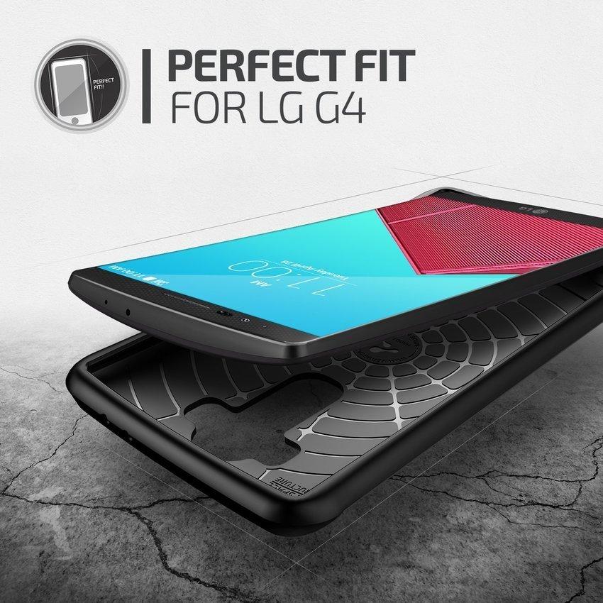 Verus LG G4 Case Hard Drop Steel Silver
