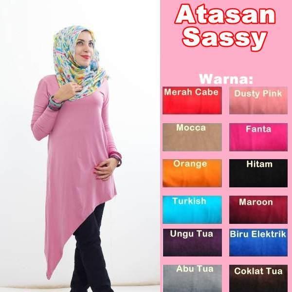 Hijab Fashion Murah : Atasan Sassy