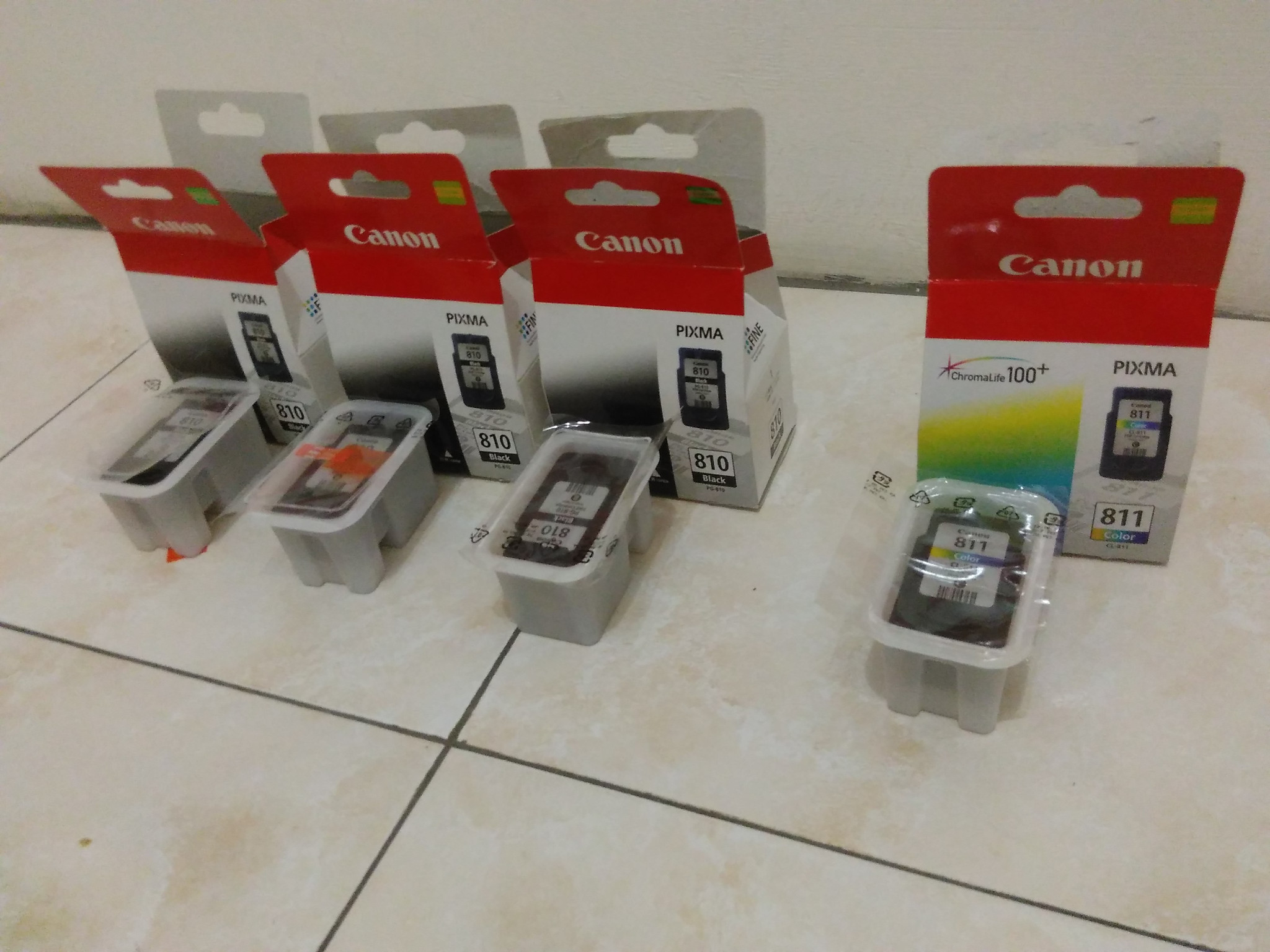 Jual Cartridge Canon Pg 810 Dan Cl 811 Elektronika Life Tokopedia Catridge Buat Test