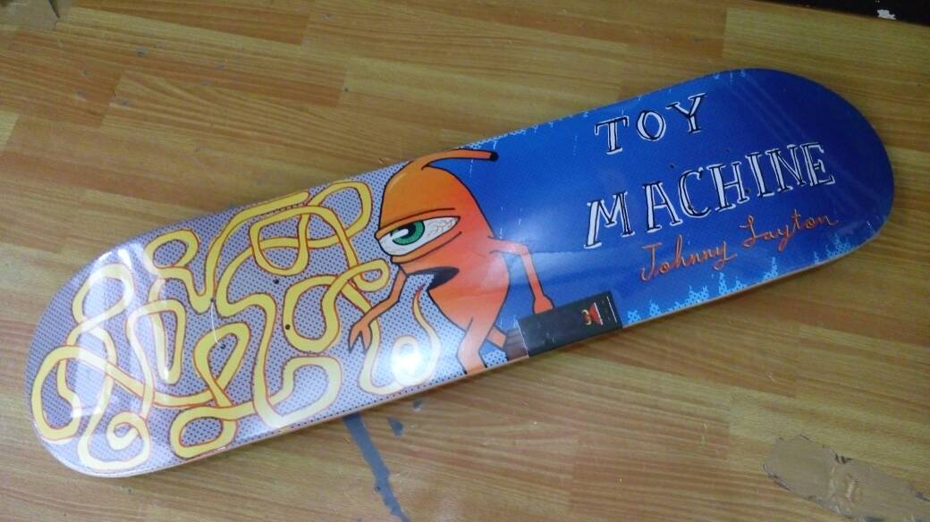 Jual Deck Skateboard Toy Machine