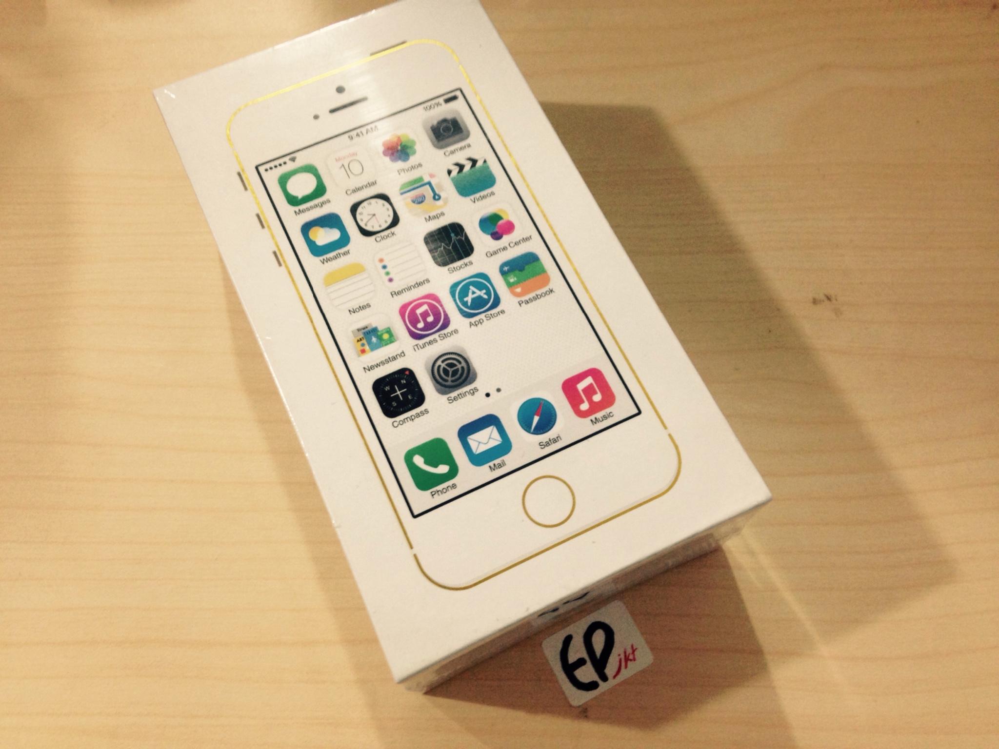 Apple Iphone 5s 32gb Gold Grade A Garansi 1 Tahun Distributor 5 64gb By Ep Jkt Jual 16gb