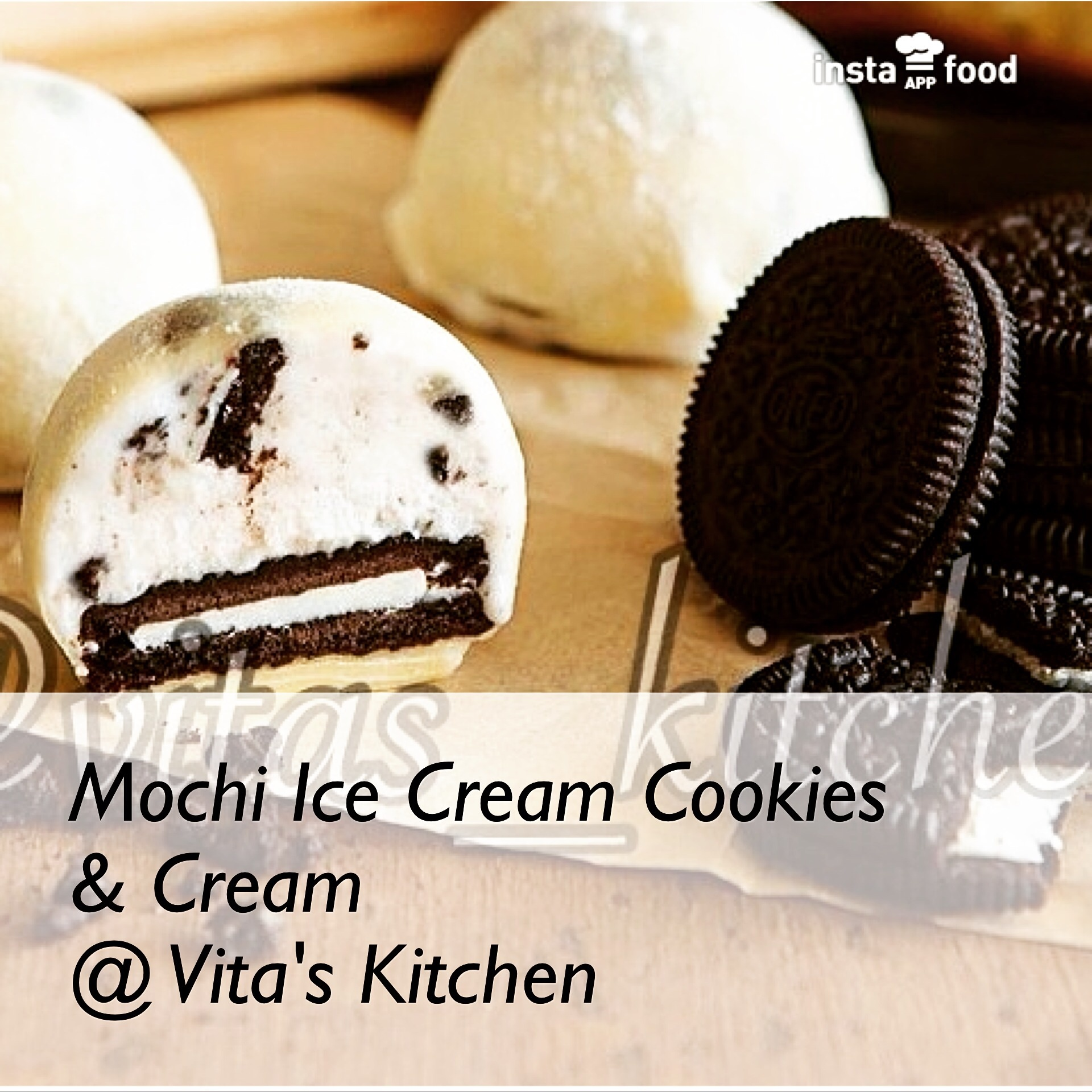Jual MOCHI ICE CREAM OREO - Vita s Kitchen  50352458d1