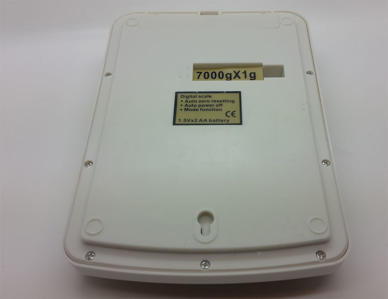 Jual Timbangan Dapur Digital 7 Kg (Type SF-400A) Layar jumbo + led ...