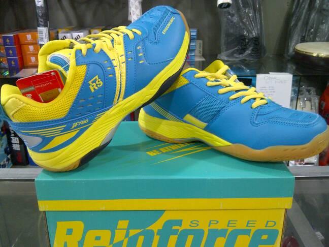 Jual Sepatu Badminton Bulutangkis Rs Jf 780 Jade Green