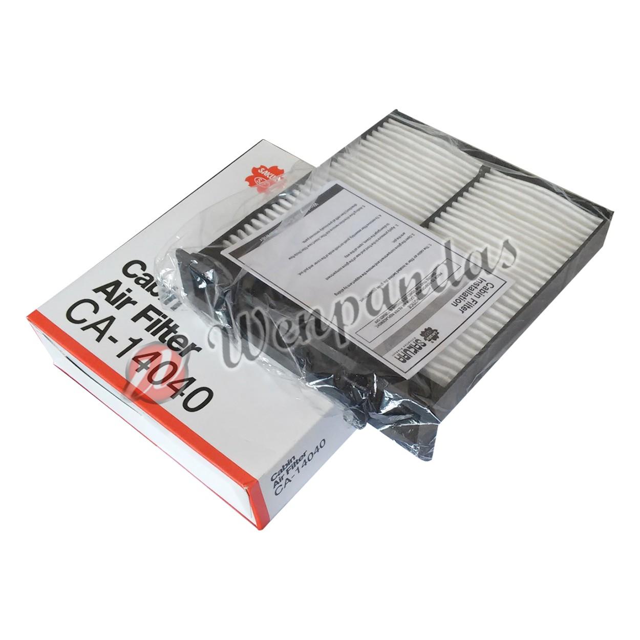 Neo Baleno: Jual Filter AC Sakura : Suzuki SX4, NEO BALENO CA-14040