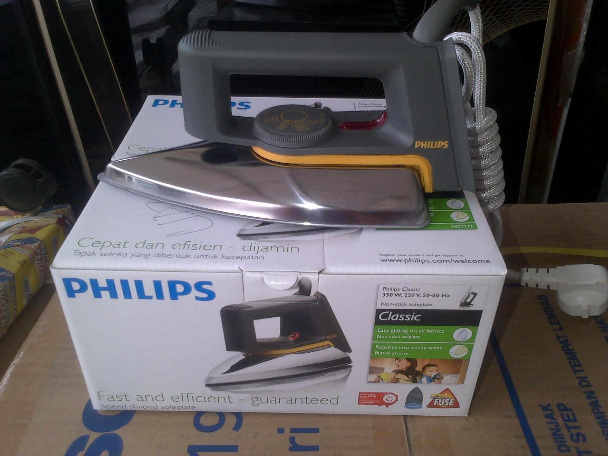 Philips Hd 1172 40 Setrika Daftar Harga Terbaru Dan Terupdate Original Jual Gosokan Seri Karyajayaelectronikhendy Tokopedia