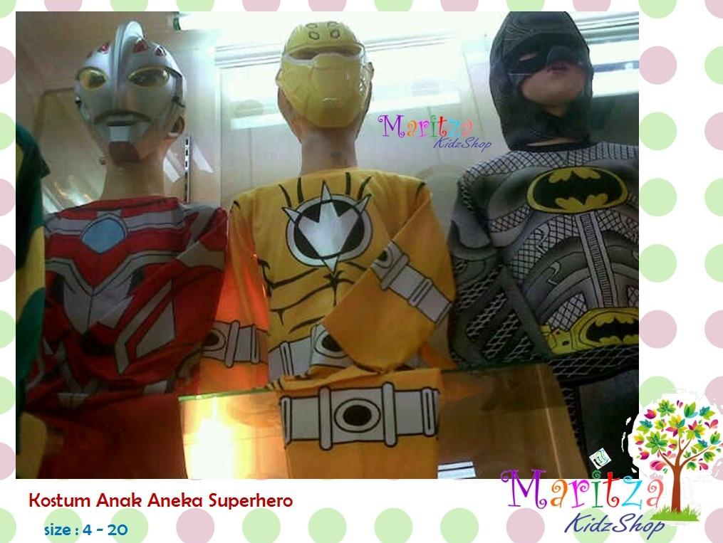 385131_13bad8bc f1c9 11e4 bdbd 51a364efb121 jual baju anak stelan kostum superhero ultraman power rangers,Baju Anak Anak Batman