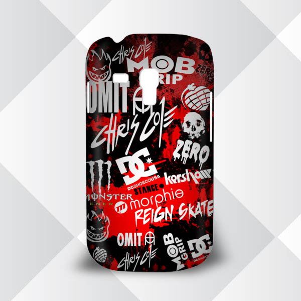 Casing Samsung Galaxy S3 Mini Chris Cole Skateboarder DC Shoes