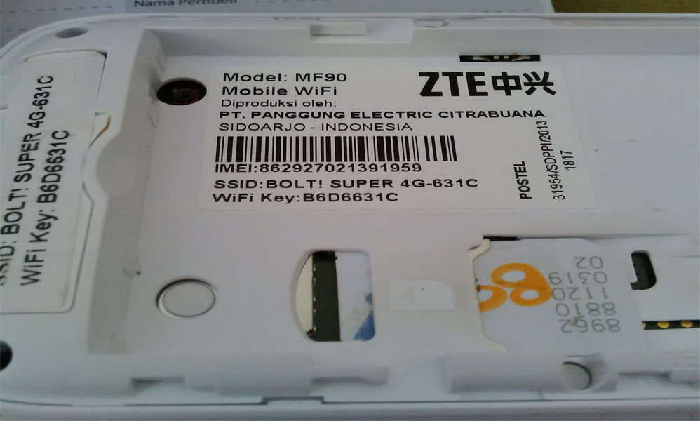 Jual PROMO Bolt 4G Mobile Wifi ZTE MF90