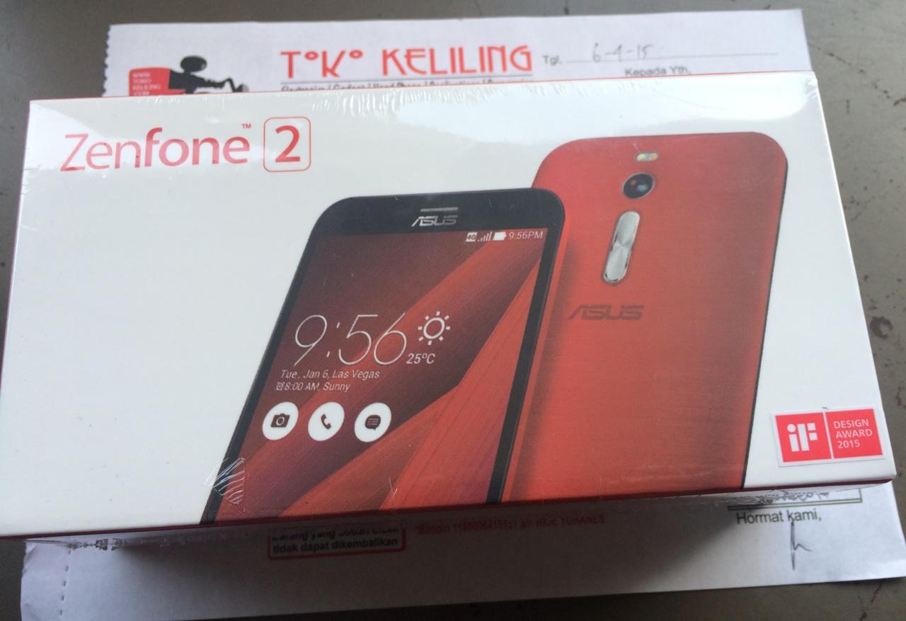 Jual Asus Zenfone 2 ZE551ML Dual Sim RAM 4GB 64GB ROM