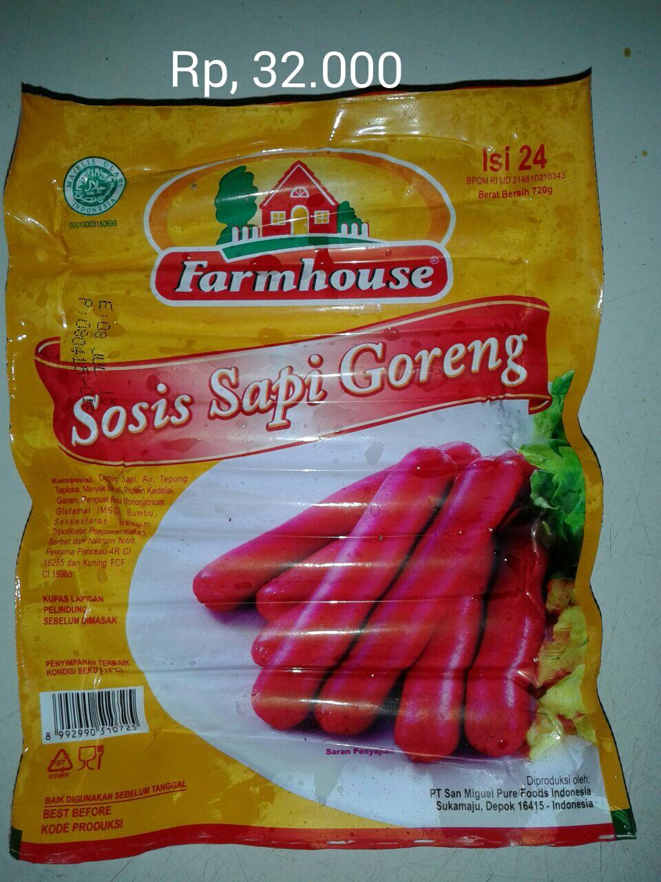 Jual Farmhouse Sosis Sapi Goreng