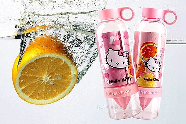 Jual Citrus Ziinger Bottle Karakter Hello Kitty dan