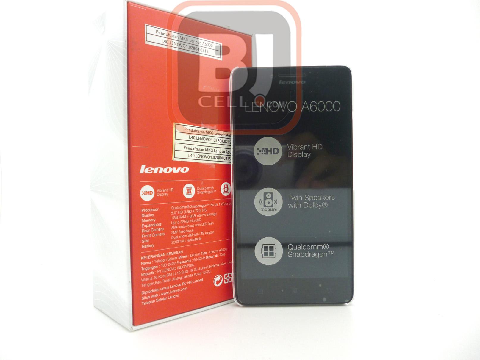 Jual Lenovo A6000 4G LTE