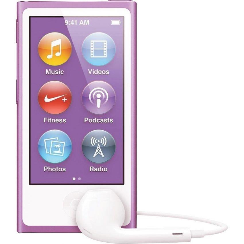 jual apple ipod nano 7th generation 16gb purple
