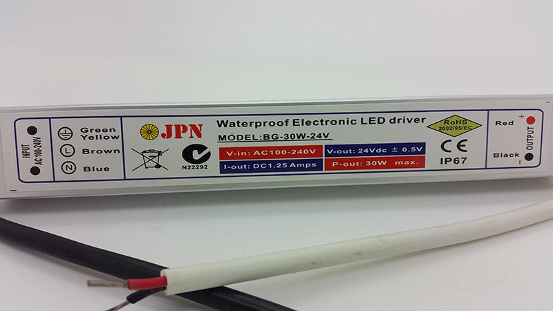 Jual 24v 1 25a 30watt Waterproof Electronic Led Driver