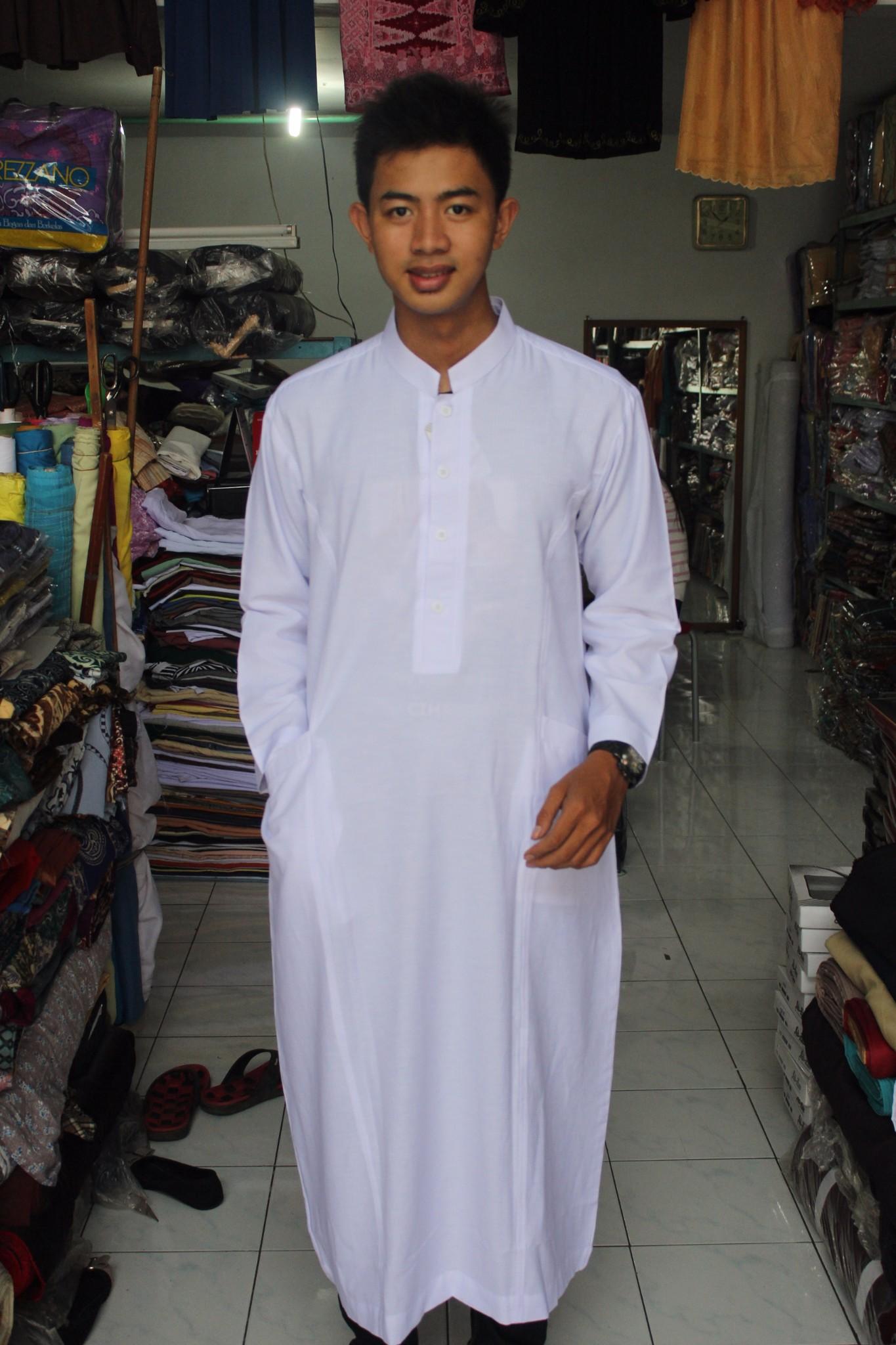 Jual gamis koko jubah busana muslim pria baju koko pria Jual baju gamis untuk pria