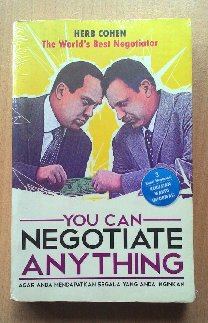 You can negotiate anything (1980 edition) | Open Library