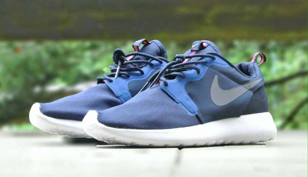 new products 976cf 6ef59 where to buy nike roshe run midnight navy blue 839e8 29c64