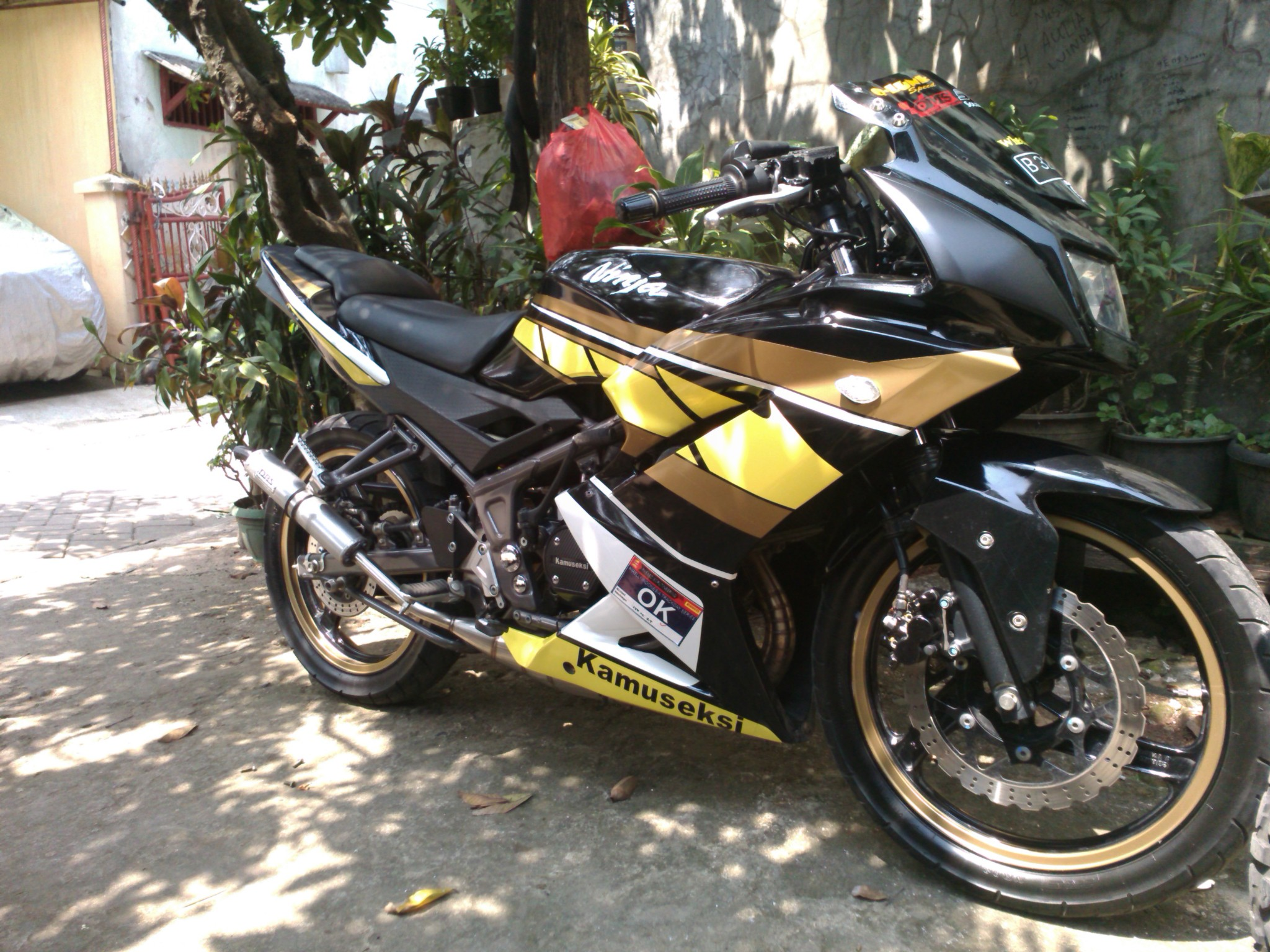 jual motor kawasaki ninja rr th 2012 - beta2321 | tokopedia
