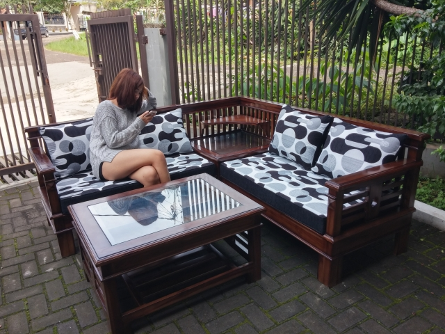 xoxo furniture. Harga KURSI SUDUT KAYU FULL JATI MINIMALIST BERKUALITAS Tokopedia.com Xoxo Furniture