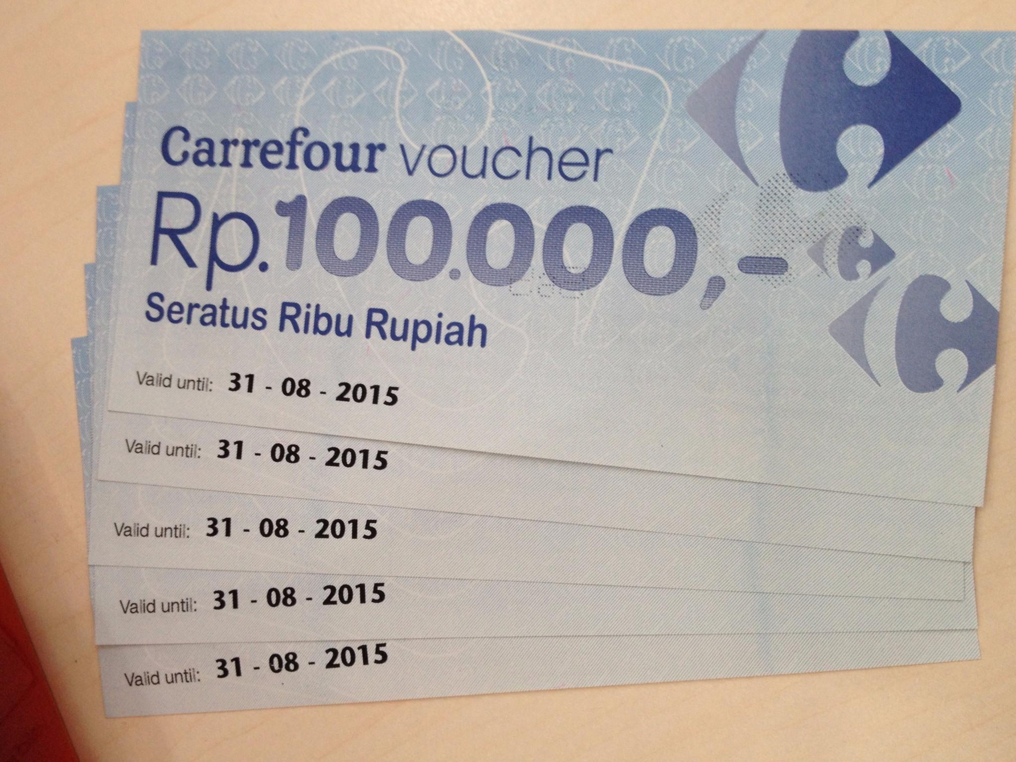 Carrefour Voucher 1000000 Daftar Harga Terlengkap Indonesia Carefour Nominal 100000 Jual