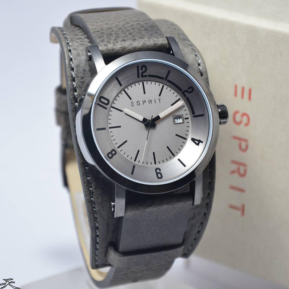 Jual Jam Tangan Esprit ES108031001 Original   Jam tangan kulit ... 99b5725a72