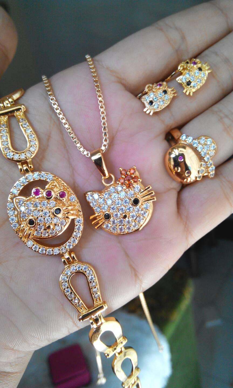 Gambar Perhiasan Emas Hello Kitty - Terkini Banget